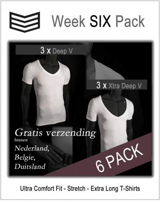 Week Six Pack - Deep V & Xtra Deep V
