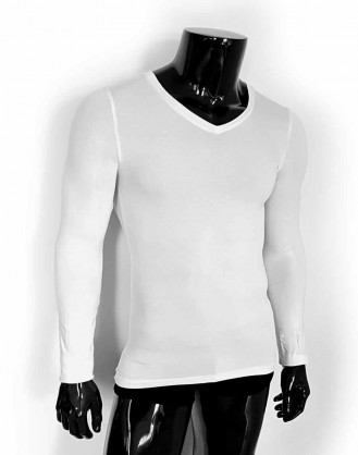 Long Sleeve V Neck Shirts - 3V Underwear